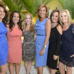 Elaina Scotto, Amy Rosneblum, Hoda Kotb, Rosanna Scotto, and Jane Hanson