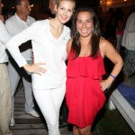 Samantha with Kelly Rutherford