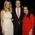 Samantha With Governor Andrew Cuomo and Sandra Lee