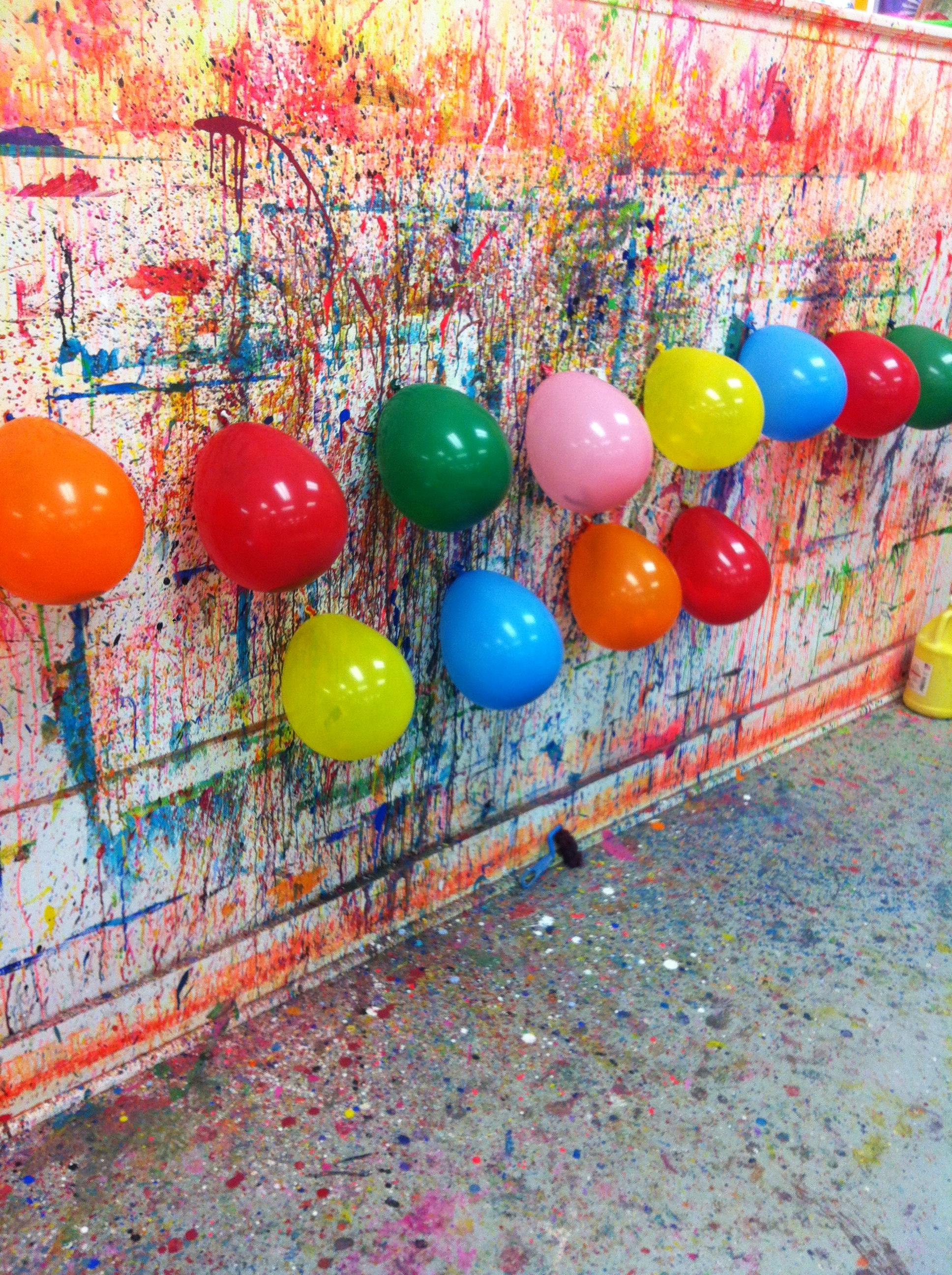 Diy spyluxe samantha yanks samantha p yanks for Kids paint party