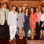 Thomas Maier, Chris Pavone, Giada De Laurentiis, Holly Peterson, Lee Brian Schrager and Jennifer Esposito