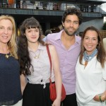 Susan Rockefeller, Julia Carlin, and Adrian Grenier